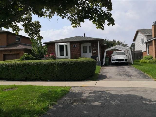 505 Silverstone Dr   West Humber-Clairville   Toronto   M9V4G8   MLS W4229513