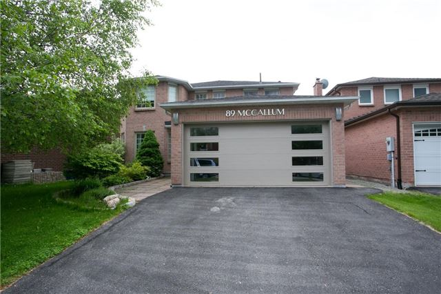 89 Mccallum Dr, Richmond Hill