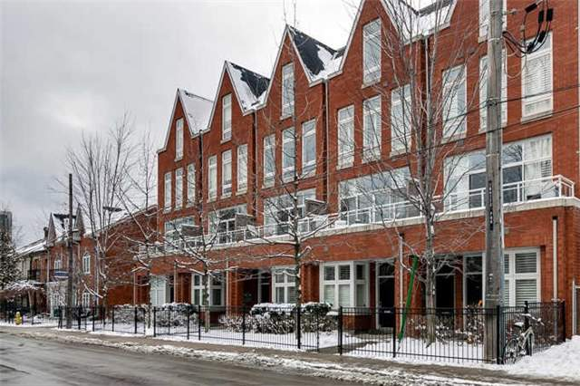 60 Tecumseth Townhomes - downtown Toronto condos