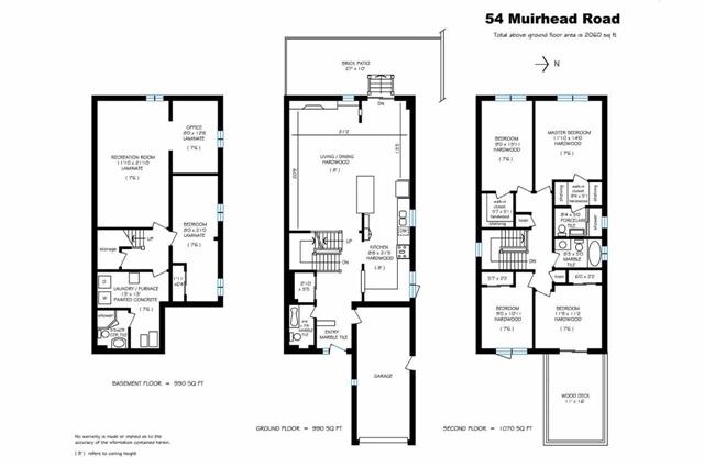 54 Muirhead Rd | Pleasant View | Toronto | M2J3W4 | MLS C3779214